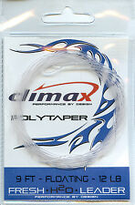 Fliegenvorfach Climax Polytaper 9 ft / Floating / 24 Lbs.