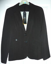 """size 10 women's black suit jacket New Look BNWT brand new with tags, lined, 25"""""""