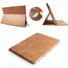 100% Genuine Leather Case Cover For Samsung Galaxy Tab S 10.5 T800 T805 T801