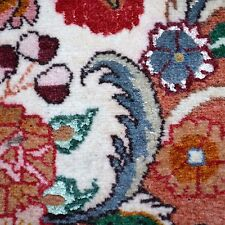 Tabriz mit Seide fein Orientteppich Teppich 295x204cm rug tappeto tapis alfombra