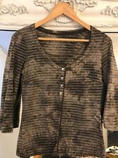 Karen Millen Metalwork Top Size 10