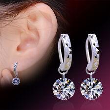 Women Fashion Jewelry 925 Sterling Silver Cubic Zirconia Drop/Dangle Earrings