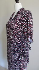TARGET Womens Vintage Polka Dot Wrap Dress Cocktail/Evening/Work Size 14, AS NEW