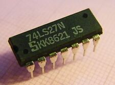 10x 74LS27N Triple 3-Input NOR Gate, Signetics