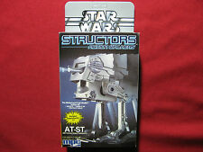 1984 Vintage Star Wars AT-ST Structors MPC Wind Up Model ROTJ Action Walker MISB