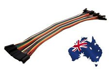 20pcs Dupont Female to Female Jumper Wire Ribbon Cable for Raspberry Pi, Arduino