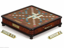 Scrabble Museum Luxury Collectors Edition Wood Classic Board Game