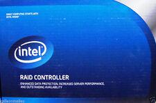 Intel PCI-E 2.0 x8  512mb 4 Port SATA / 6GB/s SAS Raid Controller Card RS2MB044