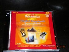 Encyclopedia Brittanica 2005 Student Encyclopedia. Ages 7-14. On CD Rom.