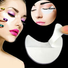 Women Lady's Pro 10x White Under Eye Shadow Shields Patches Mascara Eyelash Pad