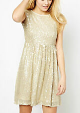 New Coco's Fortune Sequin party wedding Dress RRP £60.00 UK 12