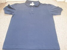 T ADAMS BLUE GIRLS COLLAR  & SHORT SLEEVES  COTTON POLYESTER AGE 12YEARS