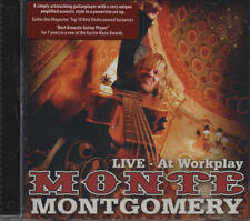 MONTE MONTGOMERY - LIVE at Workplay CD 09 provogue