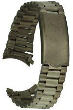 Titan Uhrarmband Rundanschluss - 19 mm Faltschliesse Ersatzuhrband