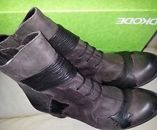 DKODE RAVI BROWN LEATHER LADIES BOOTS   Size UK 7 1/2  Fantastic Condition