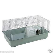 Little Friends 100cm indoor Rabbit / Guinea Pig Cage Beige with Accessories