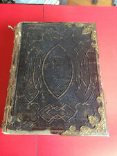 The Practical and Devotional Family Bible Published 1800s Commentary & Photos