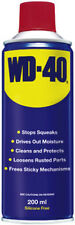 2X WD40 STOPS SQUEAKS DRIVES OUT MOISTURE LOOSENS RUSTED PARTS CLEANS/ PROTECTS