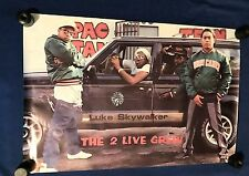 vintage 1987 2 Live Crew Too Two Is What We Are LP PROMO POSTER Luke 24x36in