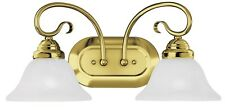 coronado 2 light livex polished brass bathroom vanity lighting fixture 6102 02 brass bathroom lighting fixtures
