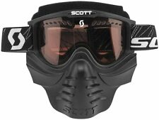 Scott USA 83X Snow Goggles with Safari Face Mask with Rose Lens 2013 Black