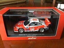 Minichamps Porsche 996 GT3 Cup 2006. Bruckl Motorsport, in 1/43 scale diecast.