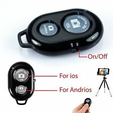 BLUETOOTH SHUTTER REMOTE TELESCOPIC MONOPOD IPHONE SAMSUNG