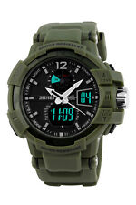 Skmei MENS SHOCK Military Quartz Watch Waterproof Analog Digital Wristwatch