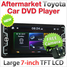 "7"" Toyota Urbancruiser Prado Hiace Celica Car DVD Player Stereo Head Unit MP3 GT"