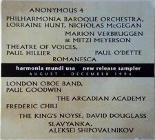 Harmonia Mundi USA - New Release Sampler August - December 1994 Digipak CD