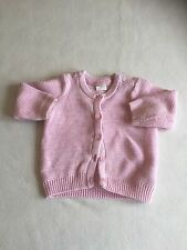 Baby Girls Clothes 3-6 Months - Cute Pink Cardigan - We Combne Postage