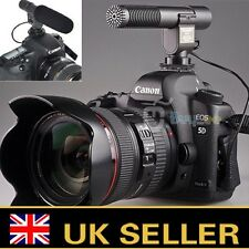 SG-108 Stereo Video Shotgun Mic Microphone for Nikon Canon Camera DV Camcorder