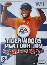 TIGER WOODS PGA TOUR 09 Wii NINTENDO GAME UK PAL
