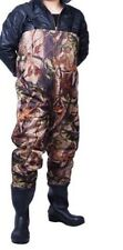 HIGH QUALITY NYLON FISHING CHEST WADERS SIZE 10 FISHING TACKLE SPECIAL