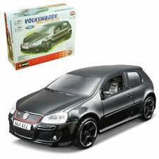 VW VOLKSWAGEN GOLF GTI Black 1:32 Diecast Metal Model Car KIT Die Cast Models