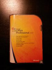 Microsoft Office 2007 Professional / Vollversion / deutsch / Retailbox 269-10346