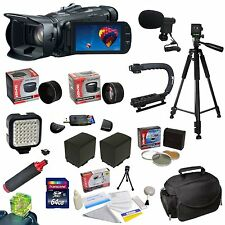 Canon VIXIA HF G30 Full HD Camcorder with Ultimate Accessory Bundle