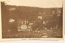 26366 AK Zwiesel Bad Berggießhübel Häuser 1925 Sächsische Schweiz