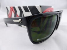 Electric KNOXVILLE XL Sunglasses Gloss Black - Melanin Grey Green Lens