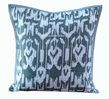 "INDIAN HANDMADE KANTHA WORK 16X16"" COTTON CUSHION COVER ETHNIC HOME DECOR ART _o"