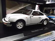 PORSCHE 911 930 Turbo 3.3 Ltr. 1987 - 1989 weiss white 1/1000 NEU Norev 1:18