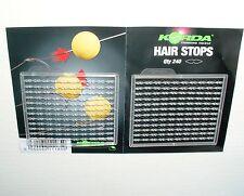 Korda Boilie Stopper - clear Hair Stops - KHBS