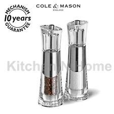 Salt and Pepper mill set, Salt Pepper grinder,Cole & Mason Bobbi gift set