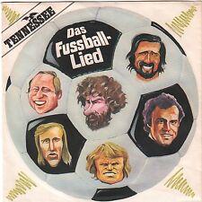 """FUSSBALL """"Das Fußball-Lied"""" Single 1984 von TENNESSEE Ahorn 817 868"""