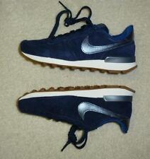 blau-weiß navy Leder Sport Schuhe Internationalist Premium Trainers Gr.35,5 NIKE