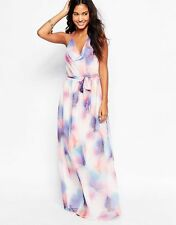 BNWT FRENCH CONNECTION CIARA WATER COLOUR MAXI  DRESS SIZE M 10 12 RRP £108