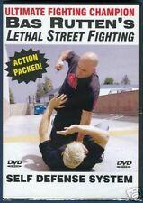 BAS RUTTEN Lethal Street Fighting NEW! Self Defense DVD