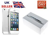New iPhone 5 White 32GB Apple Brand Unlocked Sim Free Smart Phone Sealed Boxed