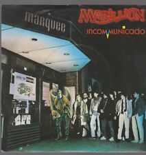 "7"" Marillion Incommunicade / Going Under 80`s EMI Electrola"