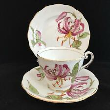 ROYAL STANDARD MORNING STAR 1930's BONE CHINA TRIO cup saucer and plate